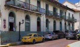 Panama City Casco Viejo. Panama City, a street of Casco Viejo Stock Image