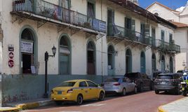 Panama City Casco Viejo Stock Image