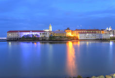 Panama City, Casco Viejo in the twilight Royalty Free Stock Photos