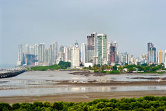Panama City & Corredor Sur Stock Images