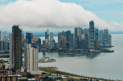 Panama city landscape Royalty Free Stock Photo