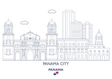 Panama City Skyline, Panama Stock Photography