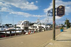 Panama City Marina Stock Photography