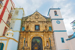 Panama city old catholic church La Iglesia de la Merced Royalty Free Stock Photo