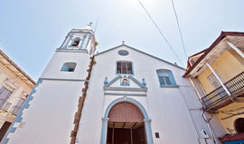 Panama city old church Royalty Free Stock Photo