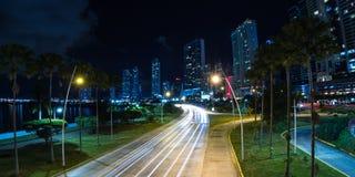 Panama City Panama Arkivbilder