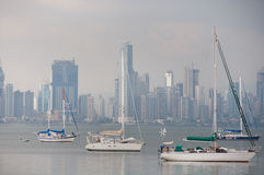 Panama City & Panama Harbor Stock Photos