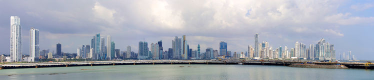 Panama City Panama skyline Royalty Free Stock Photo