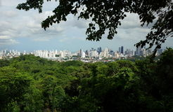 Panama City from Parque Natural Metropolitano Stock Images