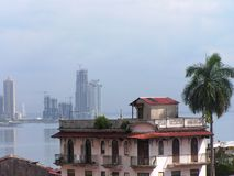 Panama City Skyline Stock Image