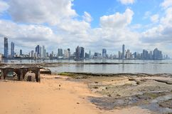 Panama City skyline Stock Images