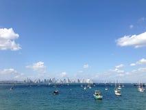 Panama city skyline 2013 Royalty Free Stock Photo
