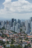 Panama city skyline Royalty Free Stock Images
