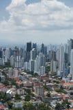 Panama city skyline Royalty Free Stock Images
