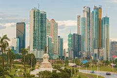 Panama City skyline. Royalty Free Stock Photo