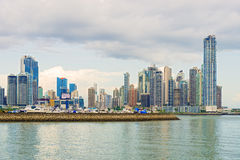 Panama City skyline. Royalty Free Stock Images