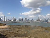 Panama City skyline Stock Images