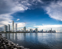 Panama City Skyline - Panama City, Panama Royalty Free Stock Photo