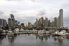 Panama City skyline, Panama. Stock Image