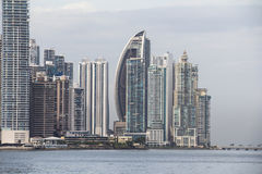 Panama City Skyline Royalty Free Stock Photos
