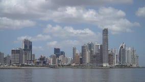 Panama City Skyscrapers, Panama. Central America stock footage