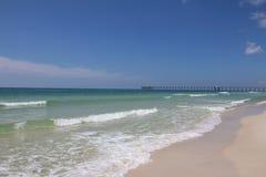 Panama City strand, Florida Arkivfoto