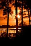 Panama City Sunset Royalty Free Stock Image