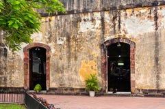 Panama City - vecchio quartiere francese Fotografia Stock
