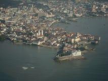 Panama City velho imagem de stock