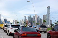Panama city royalty free stock photo