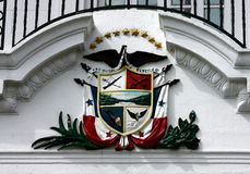 Panama Coat of Arms Royalty Free Stock Photography