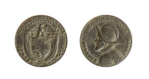 Panama coins Stock Images