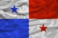 Panama Flag 3 Stock Photo