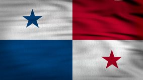 Panama Flag 3d render 4k vector illustration