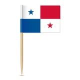 Panama flag. Flag toothpick 10eps Stock Photos