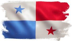 Panama flagga vektor illustrationer