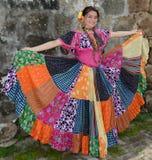 Panama flicka Arkivbild