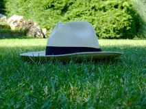 Panama hat royalty free stock images