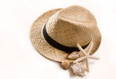 Panama hat Stock Images
