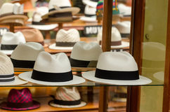 Panama hats Royalty Free Stock Image