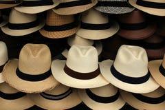 Panama Hats Royalty Free Stock Photo