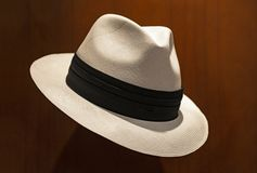 Panama hatt i Cuenca, Ecuador royaltyfri fotografi