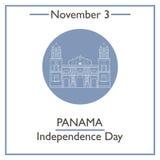 Panama Independence Day. November 3 Stock Images