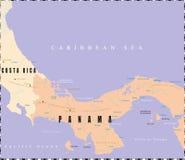 Free Panama Map. Royalty Free Stock Photos - 9082858