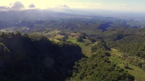 Panama mountain views. Panama views of mountains and trees in the city stock video footage
