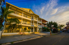 PANAMA PANAMA - APRIL 16, 2015: Gatasikt av Royaltyfria Bilder