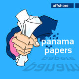 Panama Papers Business Man Hide Private Document Stock Images