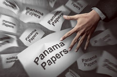 Panama Papers Concept Royalty Free Stock Images