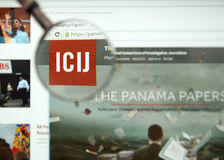 The Panama Papers Stock Image