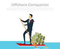 Panama Papers Offshore Company Royalty Free Stock Image